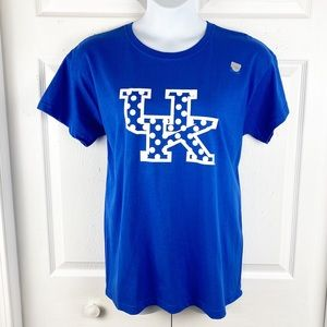 University of Kentucky Crew Neck Polka Dot Shirt